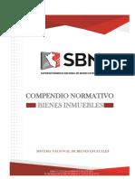 Compendio Normativo Bienes Inmuebles Actualizado a Marzo 2017