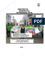 Modelo Proyecto Educativo Ambiental Integrado PEAI ME