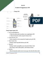 Laporan Praktikum GPS