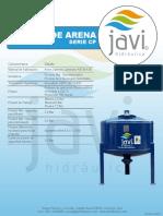 Ficha Técnica Filtros de Arena Crepina