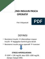 Resistensi Insulin Pasca Operatif