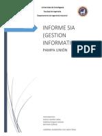 Sistema de información Administrativo de una empresa