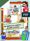 Afiches de Lectura