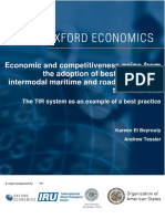 Maritime and Road Transport in the Americas