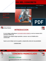 Astm c94 Concreto Premezclado