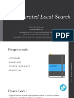 Iterated Local Search