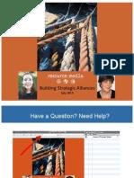 Building Strategic Alliances