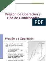 06 Presion y Tipo de Condensador