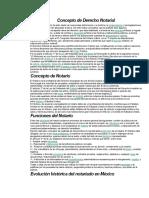 4.Antecedentes Del Derecho Notarial en Mexico