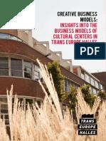 Creative Business Models Report