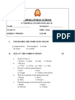 CLASS Vi Physics Complted