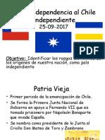 2° Medio - indep-patria nueva