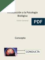 Introduccion a La Psicologia Biologica