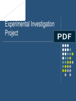 experimental investigation 4th and 5th 2017
