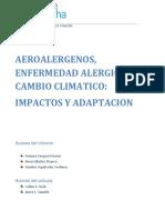 AEROALERGENOS, ENFERMEDAD ALERGICA Y CAMBIO CLIMATICO