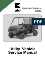 KAF950GDF - Kawasaki Trans Diesel 4x4 Service Manual