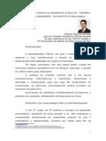 Concurso Público - Critério Etário para Desempate - Inconstitucionalidade