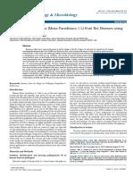 Management of Banana Musa Paradisiaca 1 l Fruit Rot Diseases Using Fungicides