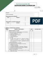 Formato 017 Lista de Chequeo Para Evaluarel Instrumento List de Chequeo