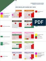 Calendario Escolar Del Curso 2017 2018 en Malaga 2017072612261519