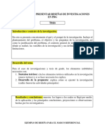 Formato Para Presentar Reseñas en PDG Con Ejemplo