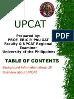 Upcat Ppt - Study Habits