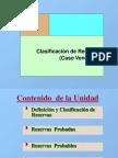 Clasificación de Reservas de Petroleo