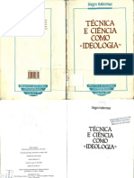 Jurgen Habermas - Técnica e Ciência Como Ideologia