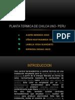 FUERZA MOTRIZ Central Termica Chilca