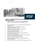 Cisco Expansion Module 7916 Phone Guide
