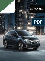 Brochure Civic Sedàn
