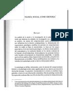 La Psicologia Social Como Historia GERGEN K