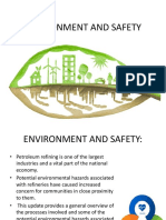 Environment and Safety