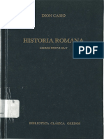 Dion Casio Historia Romana Libros XXXVI XLV Gredos 326