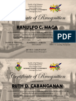 Final Certificate