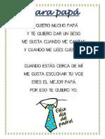 Poesia Para Papá