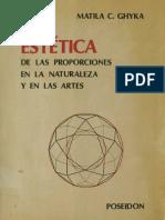 Ghyka, M. - Estética de Las Proporciones