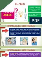 2. El Aseo y La Presentacion Personal