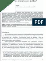 Economia e Interpretação Jurídica