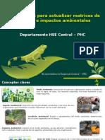Aspectos e Impactos Ambientales 2017