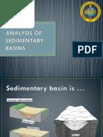 Analysis of Sedimentary Basins