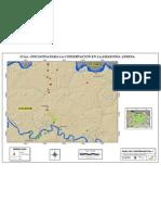Mapa de comunidades 7 Cantagallo, Tigre Playa y Union Orense, Santa Elena, Cantagallo, Tigre Playa, Singue y Peña Blanca.
