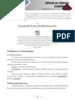 Topicos de Ciencias Economicas - Unidade 03