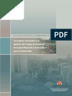 Conceptos Riesgo de Desastres en la formulación de proyectos de inversión