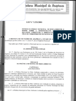 LEI_2221_2001 Código Municipal de Meio Ambiente Arapiraca