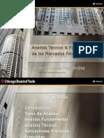 Analisis Tecnico y Fundamental de Los Mercado Financieros