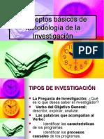 PPT - Tipos de Investigación