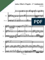 Trio Para Flauta Oboe Fagote 1º
