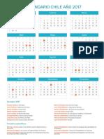 Calendario Chile 2017