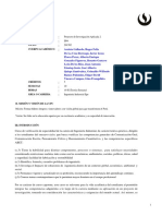 II94 Proyecto de Investigacion Aplicada 2 201702